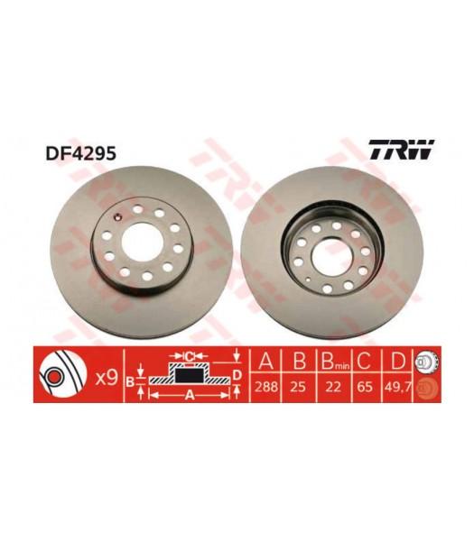 Zavorni kolut TRW DF--4295