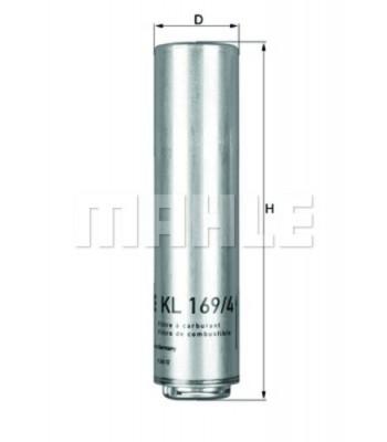 Naftni filter Mahle – Knecht KL 579 D